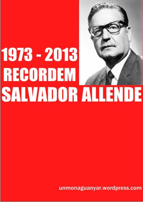 Cartell 40 anys Allende