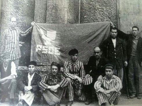 PSOE EN DACHAU